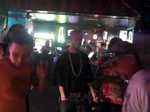 D.B. Tv Ms T Dancin with dis old man @ Club V's in Hamliton, by Dramaboyz/Callion a.k.a StuntBoi on OurStage