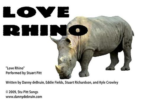 Love Rhino, by Stuart Pitt on OurStage