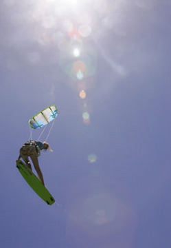 Kiteboarding - Into The Air: Larrel Isle, by Big Thing! on OurStage
