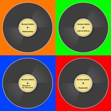 Loja de discos, by Gordon Duthie on OurStage