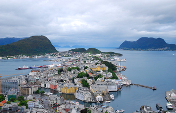 Ålesund, by Stalker VA on OurStage