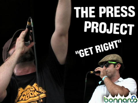 The Press Project at Bonnaroo, by ThangMaker on OurStage