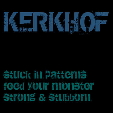 Stuck in patterns, by KERKHOF on OurStage