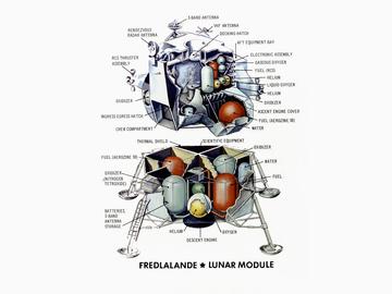 Lunar Module, by FredLalande on OurStage