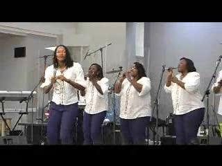 The Gospel Starlights singing