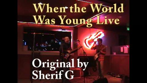 When the World was Young Live  on 2-1-2010, by Sherif G on OurStage