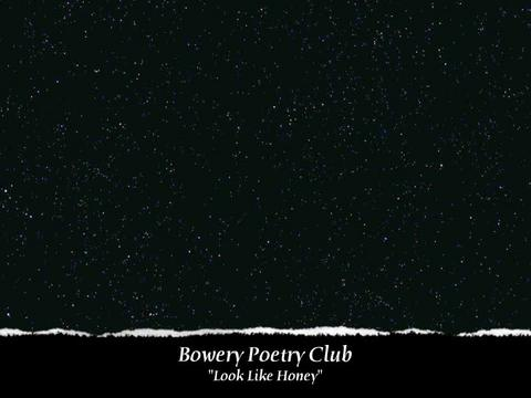 """Look Like Honey"" Performance at Bowery Poetry Club, by Tatiana Moroz on OurStage"