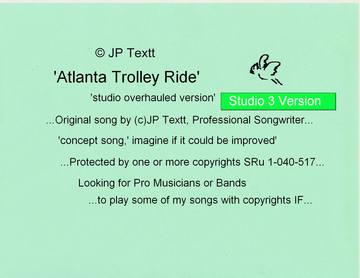Atlanta Trolley Ride, SRu 1-040-517(c)JP Textt Studio3, by JP Textt (c) on OurStage