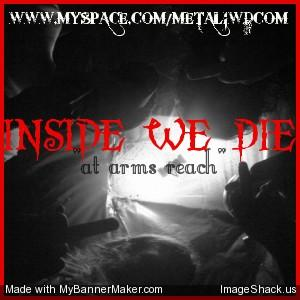 cant stop tomorrow, by inside we die on OurStage