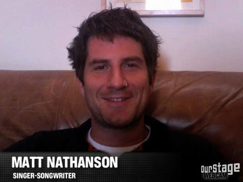 Matt Nathanson WebCam, by OurStage Productions on OurStage
