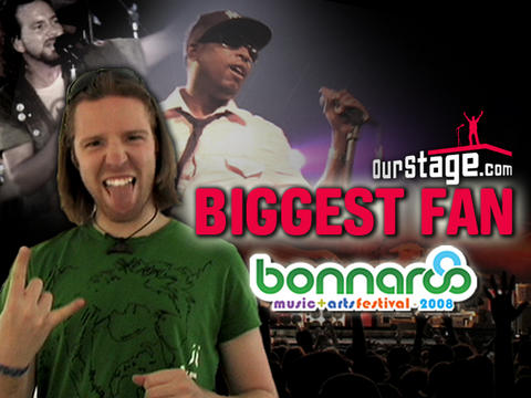 Bonnaroo Biggest Fan Meet Shinny, by OurStage Productions on OurStage