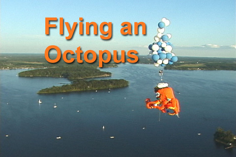 Flying an Octopus, by Tim Bayer; www.TBayer.com on OurStage