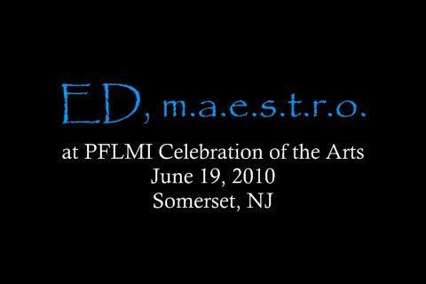 ED, m.a.e.s.t.r.o. (June 19th, 2010 Clips), by EDmaestro on OurStage
