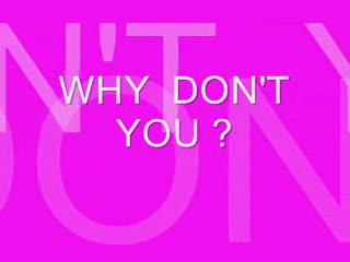 WHY DON'T  YOU?, by Steve Dafoe-SongWriter on OurStage