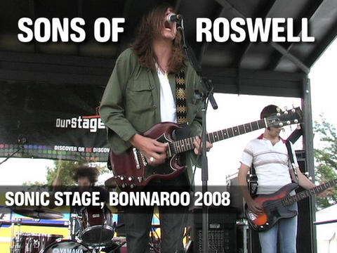 Sons of Roswell play Bonnaroo, by ThangMaker on OurStage