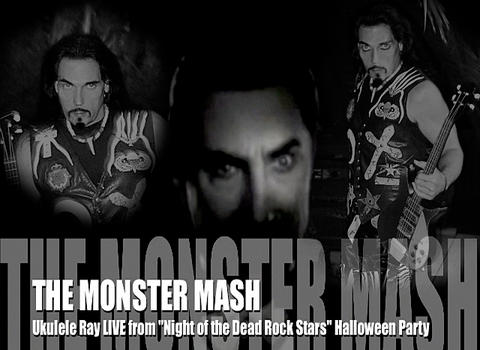The Monster Mash LIVE, by Ukulele Ray on OurStage