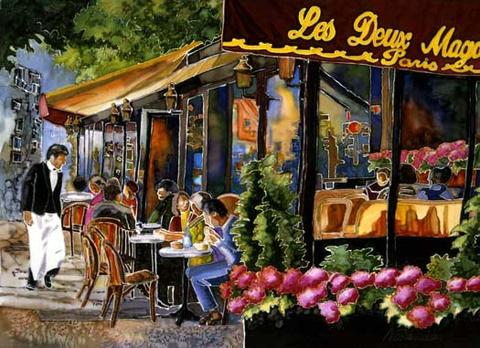 Cafe Parisien, by Helder Rock on OurStage
