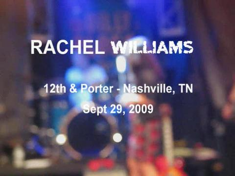 You Let Me, by Rachel Williams on OurStage