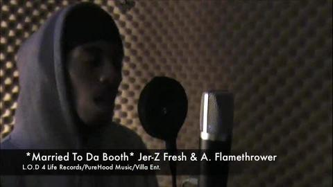 Married To Da Booth ft. A.Flamethrower, by Jer-Z Fresh on OurStage