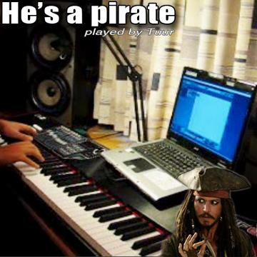 He's a pirate on keyboard (Symphonic Orchestra), by Tuur on OurStage