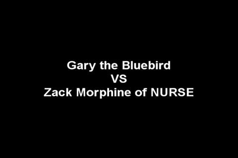 Gary the Bluebird VS Zack Morphine of NURSE, by the Advent Sunshine Clinic (NURSE) on OurStage