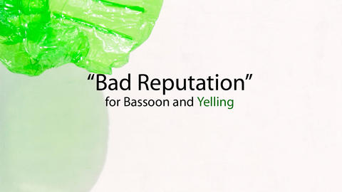 Bad Reputation for Bassoon and Yelling, by Scott Alexander on OurStage