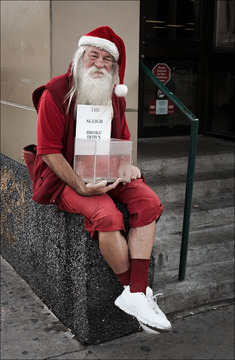 Santa Claus Don't Live In Oklahoma, by BRK JR on OurStage