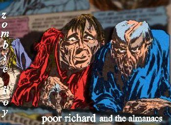 Zombie Boy, by Poor Richard and the Almanacs on OurStage