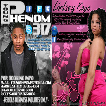 One & Only ft Lindsey Kaye, by YoungPhenom317 on OurStage