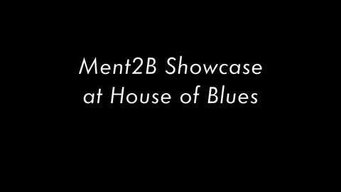 Ment2B Showcase at House of Blues, by MENT2B on OurStage
