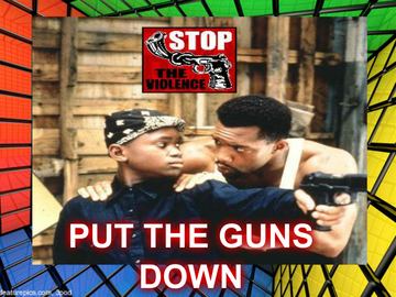 PUT THE GUNS DOWN, by randgame on OurStage