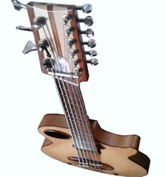 nine strings guitar - II, by mikesch on OurStage