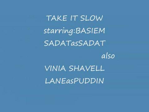 TAKE IT SLOW basiemsadat ft/wonder, by B.A.S. on OurStage