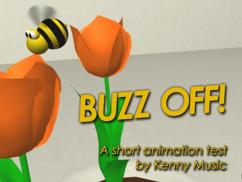 Buzz Off Animation, by Kenny Music on OurStage