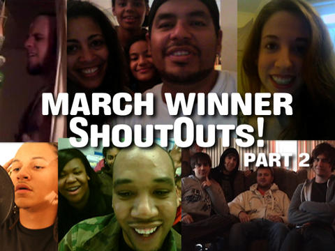 March Winner ShoutOuts: Part 2, by ThangMaker on OurStage