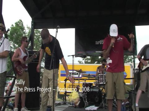 Rally - Live @ Bonnaroo, by thepressproject on OurStage