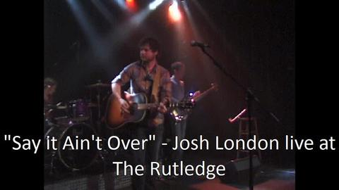 Say it Ain't Over, by Josh London on OurStage