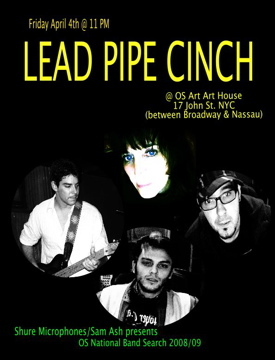 Get Out The Way , by Lead Pipe Cinch on OurStage