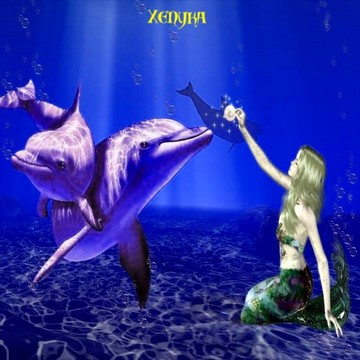 Mermaids & Dolphins (2016), by XENYKA on OurStage