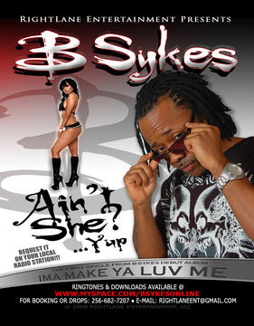 Aint She (Radio Version), by B.Sykes on OurStage