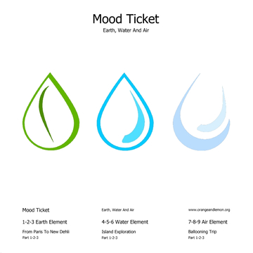 From Paris To New-Dehli Part01 (Earth, Water And Air - Earth Element), by Mood Ticket on OurStage