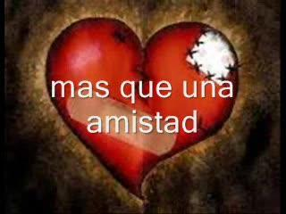 mas que una amistad, by mr vetto on OurStage