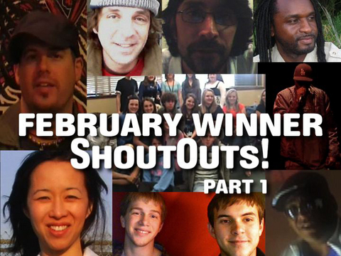 Shoutouts from Winners To The Fans!, by ThangMaker on OurStage