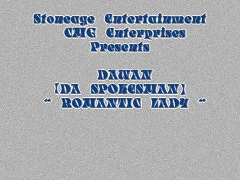 Romantic Lady Slideo, by DAWAN on OurStage