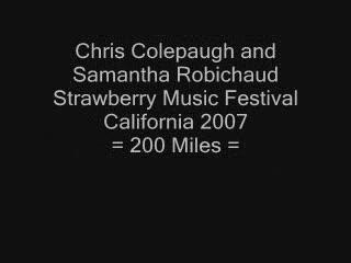200 Miles, by Chris Colepaugh on OurStage