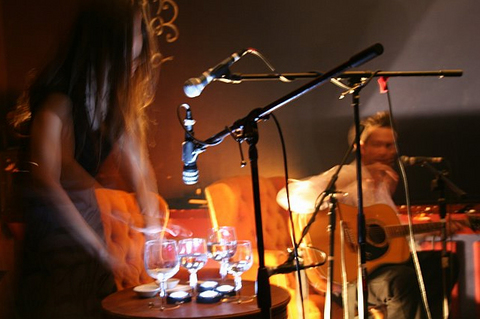 """""""The Fold"""" performed live at Silvie's Lounge, by The Plastic Thirds on OurStage"""