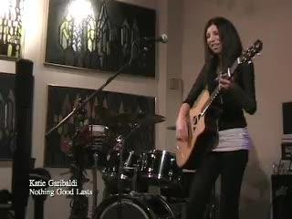 "Katie Garibaldi Performs ""Nothing Good Lasts"" at The Red Vic, by Katie Garibaldi on OurStage"