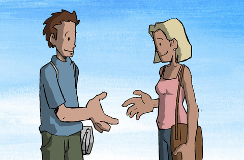 Handshake, by patsmith on OurStage
