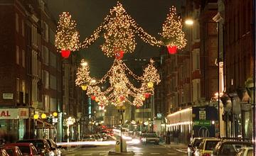Christmas city lights, by Videolento on OurStage