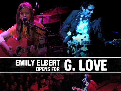 Emily Elbert Opens for G. Love, by ThangMaker on OurStage